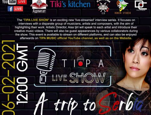 MY SERBIA features TIPA LIVE SHOW episode 3 : A trip to Serbia